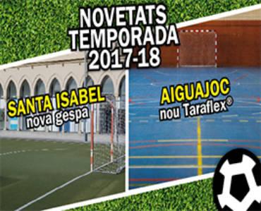 Renovem les instal·lacions de futbol sala