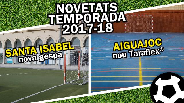 Renovació pistes futbol sala