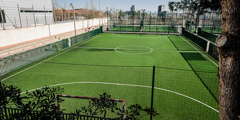Lloguer pista futbol sala