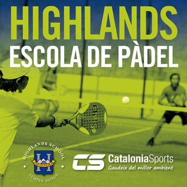 Escola de pàdel i tennis Highlands 2018-19