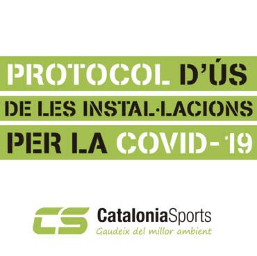 PROTOCOL D'ÚS DE LES INSTAL·LACIONS PER LA COVID-19