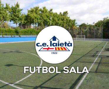 Futbol Sala al CLUB ESPORTIU LAIETÀ
